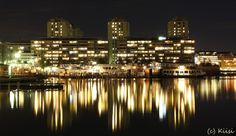 Merihaka By Night, Helsinki photo by Kiisi