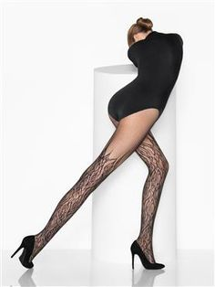 Wolford Hosiery > Fire Net Tights  This Girl is on Fireeee!