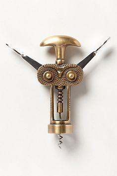 Owl cork screw!