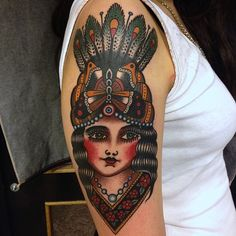 Jonas Nyberg #traditional #tattoo #grimm