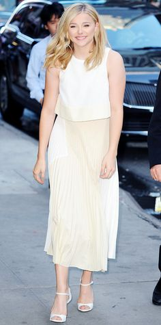 Look of the Day - August 19, 2014 - Chloe Grace Moretz in Proenza Schouler from #InStyle
