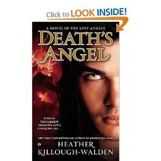 Death's Angel: a novel of the Lost Angels by Heather Killough-Walden.  Azrael, a fallen angel and the lead singer of a popular rock band, keeps his true nature hidden until he meets Sophie Bryce, a woman dealing with her own demons - and his destined mate, who needs his protection when she is targeted by supernatural forces.  http://innopac.lbpl.org/record=b1508830~S1