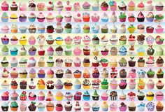 Cupcakes Galore is a 2000 piece jigsaw puzzle from EuroGraphics. Puzzle measures x when complete. 2000 Piece Puzzle, Puzzle Pieces, Cupcake Collection, Poster Making, Problem Solving, Vibrant Colors, Jigsaw Puzzles, Digital Prints, Colors