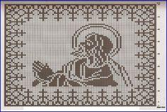 MIRIA CROCHÊS E PINTURAS: CROCHÊS COM MOTIVOS RELIGIOSOS