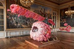 Joana Vasconcelos installation at Versailles
