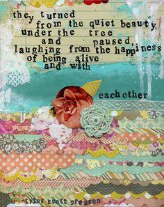 poem by tyler knott gregson.  artwork by mary wangerin.