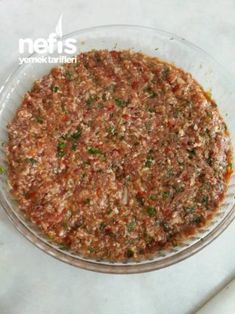 Lahmacun İçi (Süper Ötesi Lezzetli) – Nefis Yemek Tarifleri – Et Yemekleri – Las recetas más prácticas y fáciles Turkish Recipes, Greek Recipes, Ethnic Recipes, Healthy Eating Tips, Healthy Nutrition, Raw Vegan Recipes, Meat Recipes, Roh Vegan, Vegetable Drinks