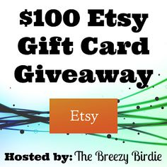 Rapid Promo's: $100 Etsy Gift Card Giveaway!