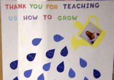 Teacher Door Decoration - raindrops