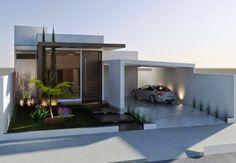 As Fachadas de Casas Térreas estão cada vez inovando mais, confira a seleção de modelos que trouxemos e veja as opções para a sua obra.