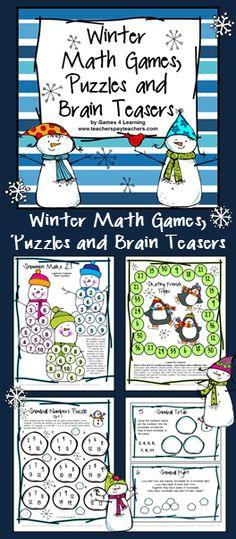 Halloween Activities: Halloween Math Games, Puzzles and Brain ...