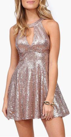 Sequin Party Dress <3