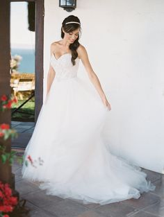 Photography: Britta Marie Photography - brittamariephotography.com Wedding Dress: Wendy Bellissimo Custom Design - http://wendybellissimo.com   Read More on SMP: http://stylemepretty.com/vault/gallery/37071