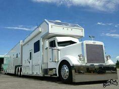 Rv Motorhomes, Luxury Motorhomes, Big Rig Trucks, Truck Camper, Semi Trucks, Car Trailer, Horse Trailers, Super C Rv, Motorhome Conversions