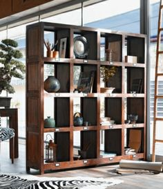 For the home on pinterest rouge canapes and deco - Etagere bois exotique ...