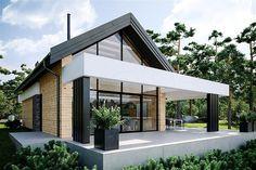 Architecture – Enjoy the Great Outdoors! Modern Barn House, Modern Bungalow House, Modern Bungalow Exterior, Utila, Modern Villa Design, Model House Plan, Small Modern Home, Weekend House, Small House Design