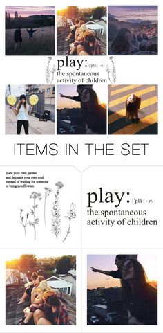 """""""play"""" by whimsical-samiko ❤ liked on Polyvore featuring art and vintage"""