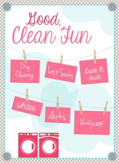 Good, Clean Fun - Great ideas for personalization!
