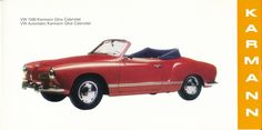Karmann Factory Brochure, late 1960s