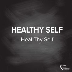 We all have the ability to self-heal and to stay healthy.