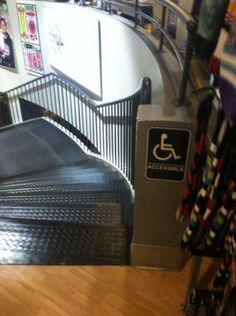 #AlwaysDoItBIG on #Stairs  www.DonkBoard.com  #wheelchair #accessible #bad