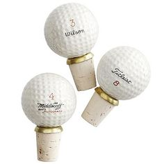 #Personalized $28 Vintage Golf Ball Stopper in our #giftguide- A perfect Mother's/Father's Day gift!