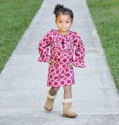 Fall 2012.. Maroon/Burgandy Ruffle Neck Dress.. Sz 6m-6y.. Perfect for Fall days girl toddler on Etsy, $35.00