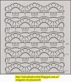 PATRONES - CROCHET - GANCHILLO - GRAFICOS: HERMOSAS FLORES TEJIDA A CROCHET