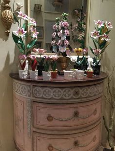 Flowers and Femininity, the French way, from Le Cabinet de Porcelaine (left bank, Paris)