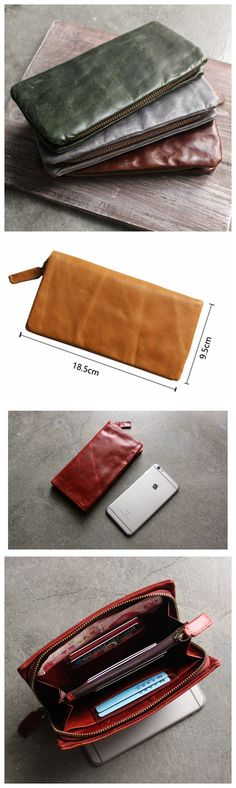 Money Holder, Long Leather Wallet, Women Wallet, Phone Wallet Source by Bags style Mens Long Leather Wallet, Wallets For Women Leather, Leather Gifts, Leather Bags, Purses For Sale, Purses And Bags, Leather Anniversary Gift, Best Bags, Cute Purses