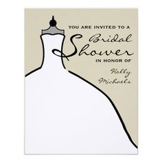 See MoreBridal Shower - Wedding Dress Custom Color Custom Invitationsin each seller & make purchase online for cheap. Choose the best price and best promotion as you thing Secure Checkout you can trust Buy best