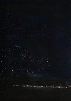 "Sofia Datseri Original Paintings, ""Nightlights"", 70x100 cm, mixed media on paper, 2020 #paintings #original #greece #art #exhibition #technohoros #nightlights #sofiadatseri Greece Art, Nightlights, My World, Original Paintings, Mixed Media, Celestial, Paper, The Originals, Mixed Media Art"