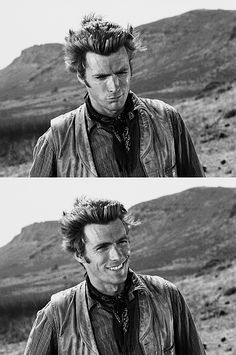 Eastwood as Rowdy Yates...was so in love with him when I grew up watching Rawhide...so in love:)