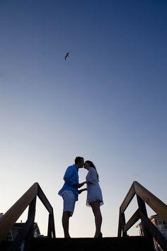 darling beach engagement of michael   jennifer