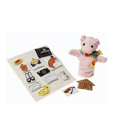 The star of a classic cautionary tale of animal fun comes to life with plenty of storytelling props in this magical set of plush toys. CHOKING HAZARD: Small parts. Not for children under 3 years