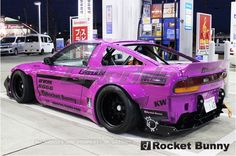 Rocket Bunny Nissan 240SX 1989-93 Full Rocket Bunny 180SX / 240SX Wide-Body Aero Kit with Wing