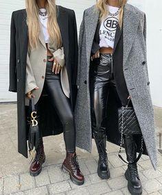Next Fashion, Cozy Fashion, Winter Fashion Outfits, Edgy Outfits, Fall Winter Outfits, Autumn Winter Fashion, Cute Outfits, Classy Casual, Legging