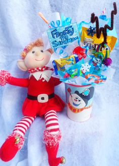 Frosty the Snowman Kids Party Favor by Lynns Candy Creations
