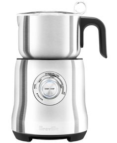 Breville Cafe Milk Frother, 2 Silver Make a delicious hot chocolate, cappuccino or latte at home with the stainless steel Breville Milk Café Frother. Milk Cafe, Milk Frothers, Milk Jug, Bialetti, Best Espresso, Small Appliances, Kitchen Appliances, Kitchen Depot, Kitchens