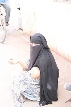 the muslim beggar mother and child bandra