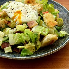 Hearty BLT Bread Salad - Bowen Close serves all the great flavors of a BLT in a crisp, hearty salad.