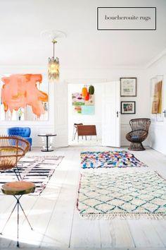 Boucherouite-rug, mimosalaneblog.blogspot.com