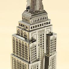 Corte Láser PIECECOOL Empire State Building 3D Modelos Puzzle