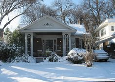 Should have used this as my Christmas Card (Memphis Midtown Bungalow)