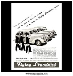 Original Vintage Advert From February Triumph Car, British Car, Advertising, Ads, February 9, Skates, Magazine Art, Buses, Motor Car