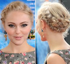 AnnaSophia Robb's Romantic Braided Updo — Expert Tips From Her Stylist