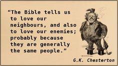 G.K. Chesterton – Enemies
