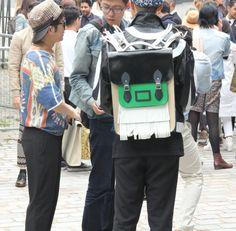 Cute Rectangular Backpack