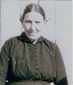 Ane Berentsdatter, my great grandmother. She was born in October, 1856  and had 12 children by 2 husbands. She was raised on a now unoccupied island off the coast of Bø. In the 19th century it was closer to the fishing. After cars and roads appeared on shore, the island residents began to feel isolated. The last name meant literally that Ane was the daughter of Berent Hough. He was an immigrant from Bergen, Norway drawn by the fishing.