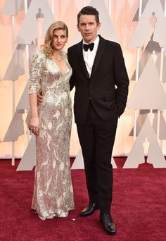 87th Academy Awards - Arrivals Ethan Hawke, right, and Ryan Hawke arrive at the Oscars on Sunday, Feb. 22, 2015, at the Dolby Theatre in Los Angeles. (Photo by Jordan Strauss/Invision/AP)